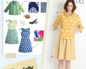 Lisette Simplicity Pattern 2209 Passport Dress & Jacket sz 6 8 10 12 14