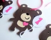 Teddy Bear Favor Gift Tags - 12 - beary fun bear collection