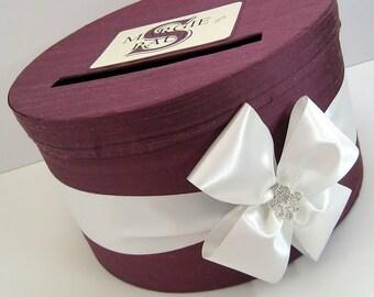 Wedding Card Box Fleur Di Lis Money Holder Wedding Reception Card Box Wedding Money Box - Custom Made