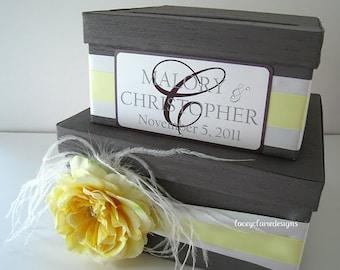 Wedding Card Box Custom Made - Money Card Holder, Gift Card Box, Unique Card Box