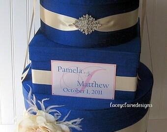 Wedding Card Box Wedding Money Box Wedding Card Gift Card Holder - Custom Made