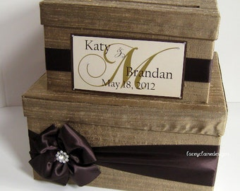 Wedding Card Box, Gift Card Box, Money Card Box - Custom Made