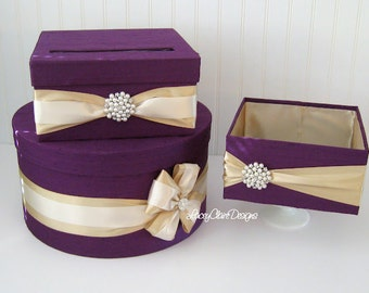 Wedding Card Box Wedding Card Holder - Handmade to Order Custom Made