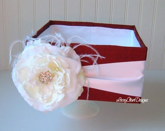 Program box, amenities box, Bubble Box, Centerpiece, Favor Box,  - Custom Made