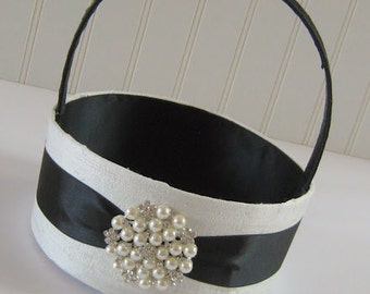 Flower Girl Basket  - Custom Made