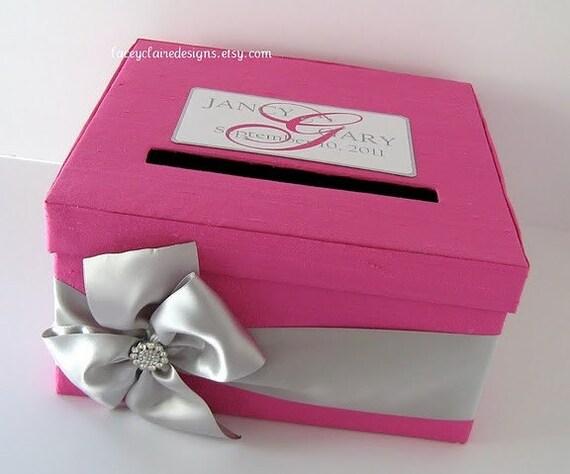 Gift Card Boxes Wedding: Custom Wedding Card Boxes Wedding Gift Card By
