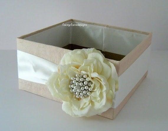 Wedding Program Box, Amenities, Bubbles Box, Favor Holder- Custom Made