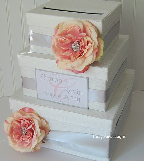 Wedding Planner Gift Box : Wedding Card Box Gift card box Money card box card holder, Custom Made