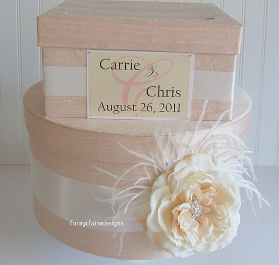 wedding card box money holder Custom Made to Order