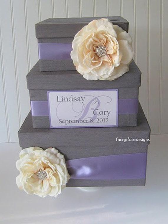 Mailbox Wedding Gift Card Holder : Wedding Card Box Wedding Card Gift Card Holder - Custom Made