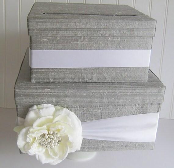 Wedding Gift Money Holder : Wedding Gift Card Money Box Holder Custom by LaceyClaireDesigns