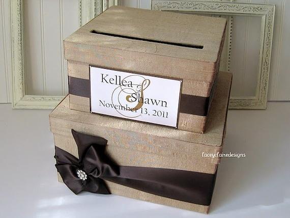 Wedding Card Boxes, Money Card Box, Custom Card Box, Wedding Card Holder - Custom Made to Order