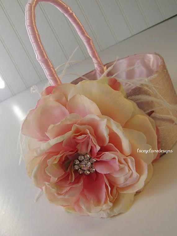 Flower Girl Basket  - Custom Made