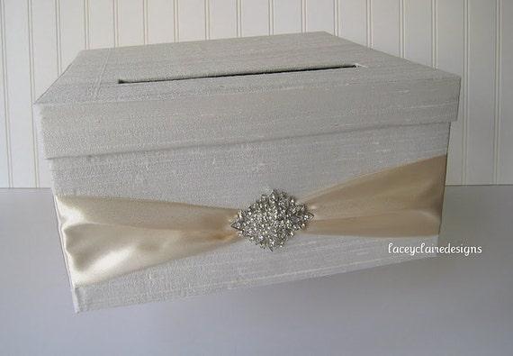 Wedding Card Box Money Holder - Custom Made to Order