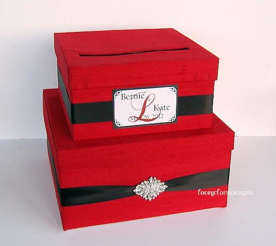 Wedding Gift Box Card Holder : Card Box, Wedding Card Box, Money Holder, Gift Card Holder Custom Made
