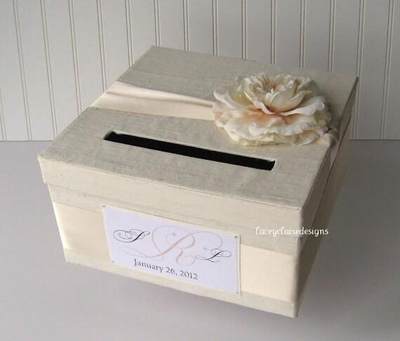 Custom Wedding Card Box Money Card Holder