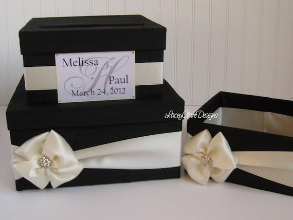 Wedding Shower Gift Card Box : wedding card box money holder gift card box bridal shower card box ...