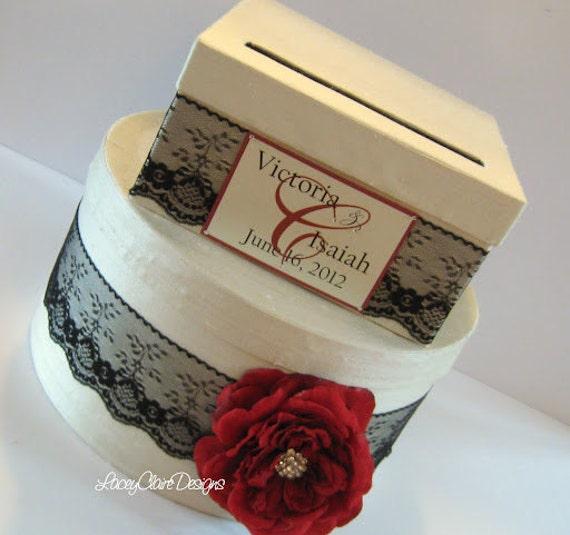 Bridal Card Box Handmade Silk Money Holder