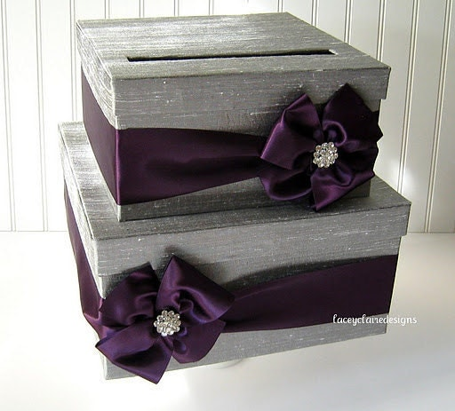 Wedding Planner Gift Box : Card box for wedding custom gift card box