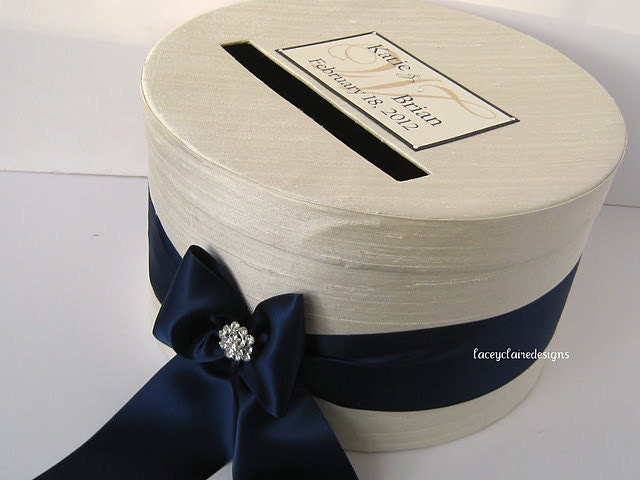 Wedding Gift Box Holder: Wedding Card Holder Gift Card Box Custom Made