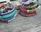 Make your own patchwork bracelet