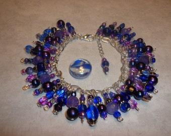 Pre-Summer Sale! Gorgeous shades Of purple Purple Loaded Bracelet ON SALE!