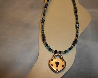 Stunning Lock Ankle Bracelet