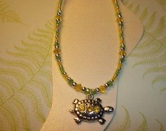 Pretty Turtle Ankle Bracelet