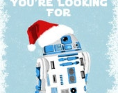 Star Wars Holiday Cards Set of 10 - R2D2 May You Find the Droids You're Looking For