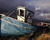 retired fishing boat connamara ireland