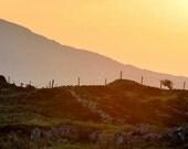 sunrise in connamara,ireland