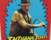 Indiana Jones Complete Set Of Trading Cards -  1984