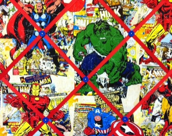 Allover Avengers Small Photo Memory Board