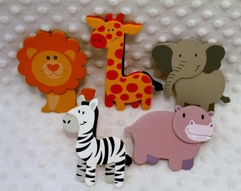 Decorative Outlet Socket Covers Jungle Zoo Animals Baby And Kids