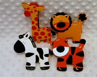 Popular gadgets for animal toddlers on Etsy - Decorative Outlet Socket Covers Jungle Zoo Animals Baby And Kids