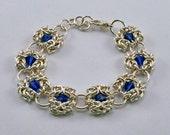 Chainmaille Bracelet  Byzantine Units