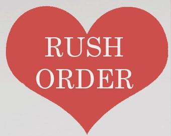 RUSH order for ring bearer pillows