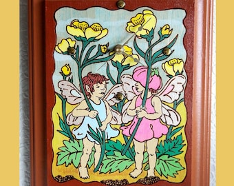Wall Clock Buttercup Fairy