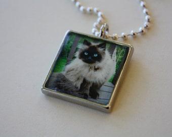 Custom Personalized Pet Photo Jewelry Pendant Necklace