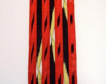 Hand Woven Silk Wall Hanging