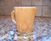 Fire King Peach Luster Mug - SALE