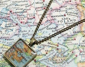 New Orleans, Louisiana 1976 Map Necklace
