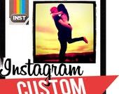 INSTAGRAM Custom Necklaces - Your Photo