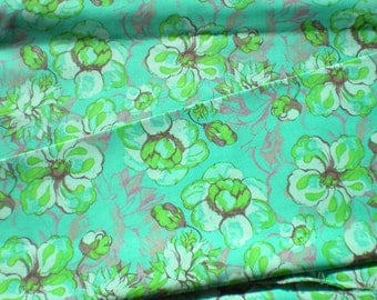 SALE Free Spirit Olivia's Holiday Romance Garden Vintage Style Floral Fabric Yardage Greens