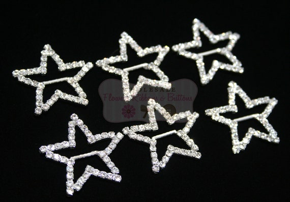 Wholesale lot of 6 Star Ribbon Slides - LAST TWO