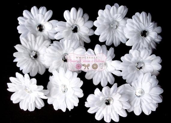"12 2""  White Daisy Flowers - LAST ONE"