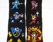 Mega Man Inspired Scarf RESERVED for TornadoMan