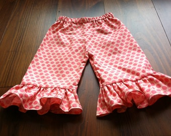 Ruffle Pants Pattern - Baby Toddler Children