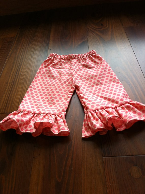 Your growing girl will look adorable in these girls' Carter's ruffle pants.