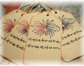 4th of July Celebrate Freedom Fireworks Tags (6)